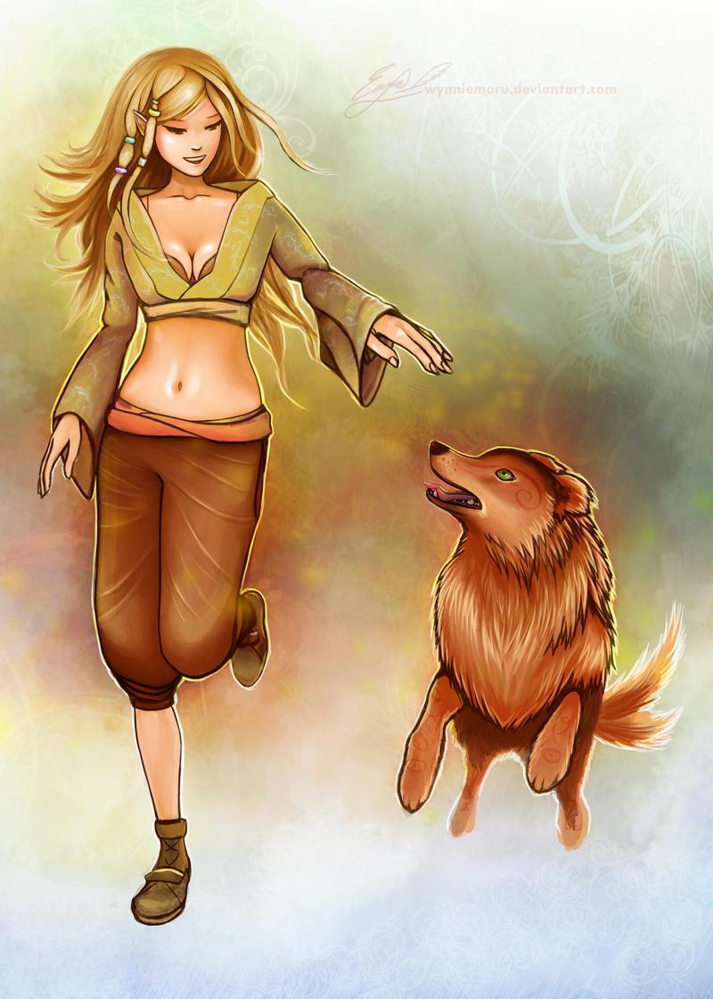Her Best Friend by eroseon