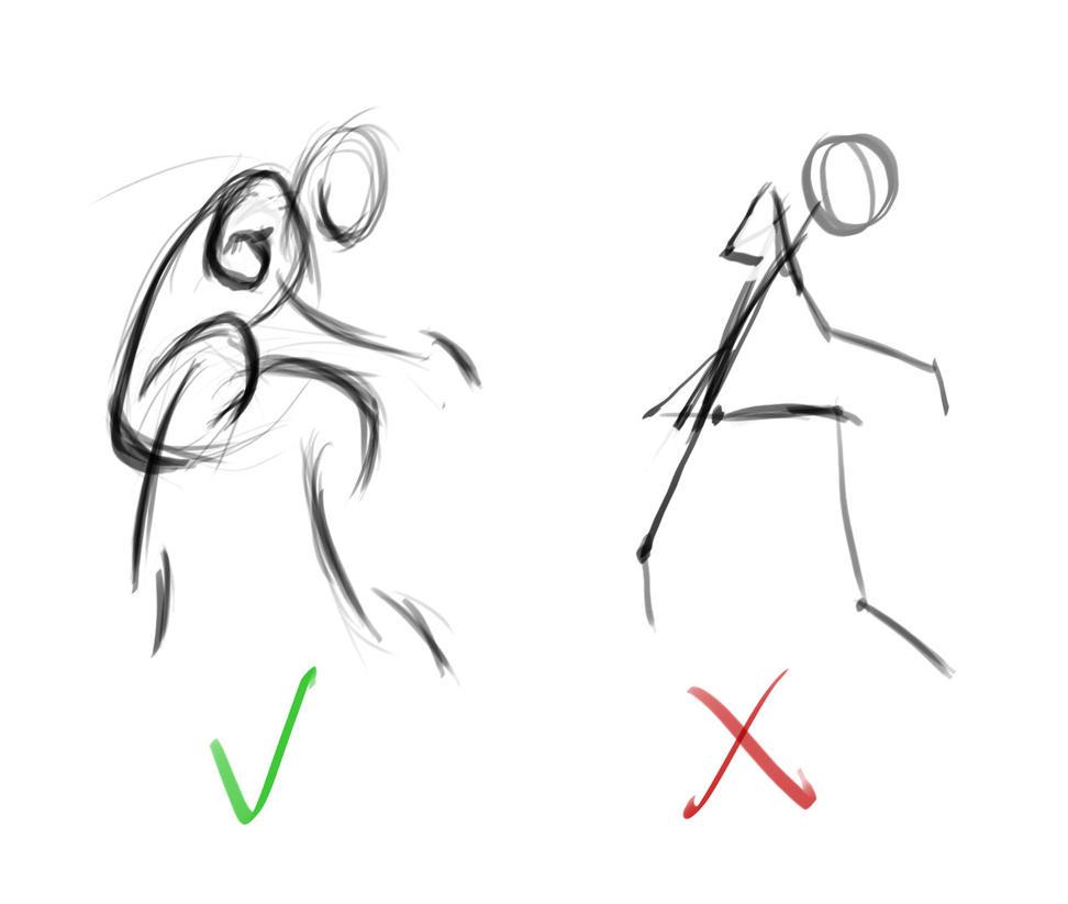 Alternative To The Stick Figure Model Ii By Jerseycajun On Deviantart