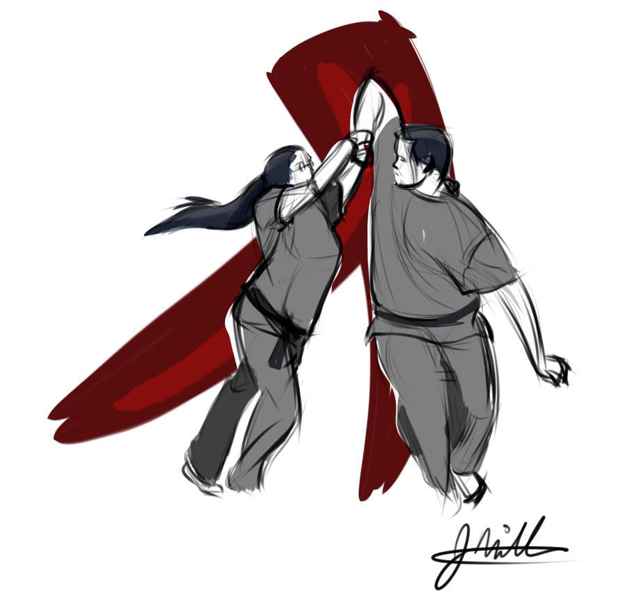 Randori 1 by jerseycajun