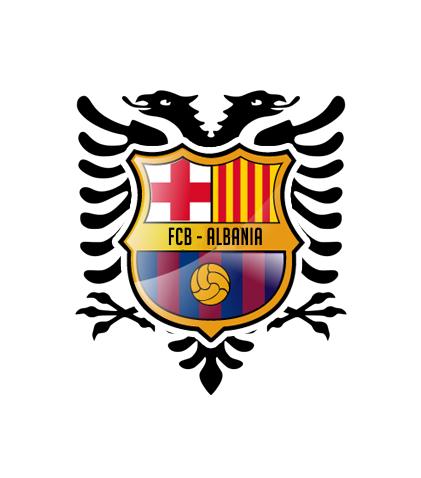 FC Barcelona - Albania / Logo / Dorian Design
