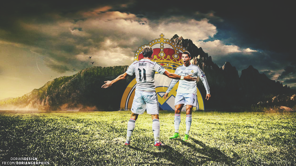 CRonaldo And GBale WALLPAPER By Doriandesignhd