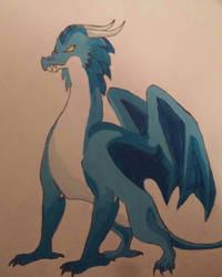 Dragon by TumbleweedSlider