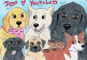 Dogs of YouTube (and Slippy) by TigerSpuds