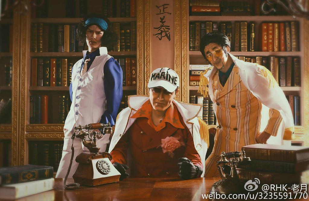 One Piece- The Three Admirals by SunnyLeague on DeviantArt