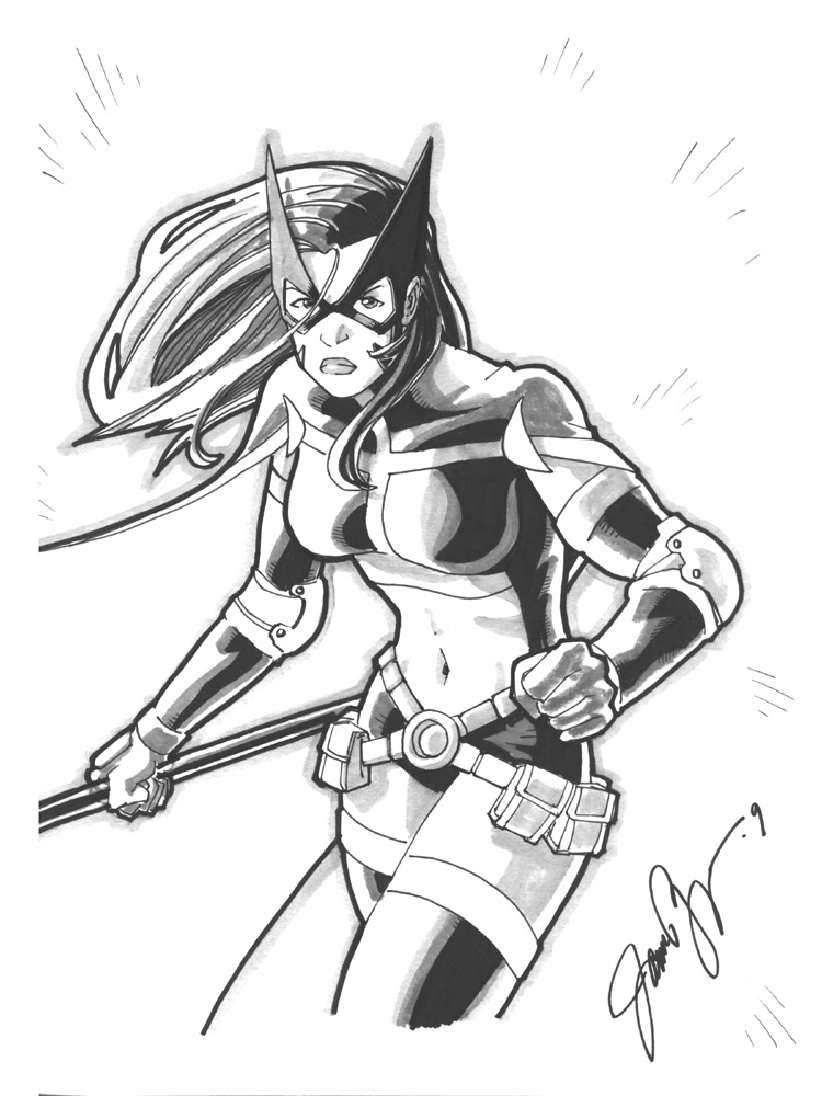Huntress by jamesq