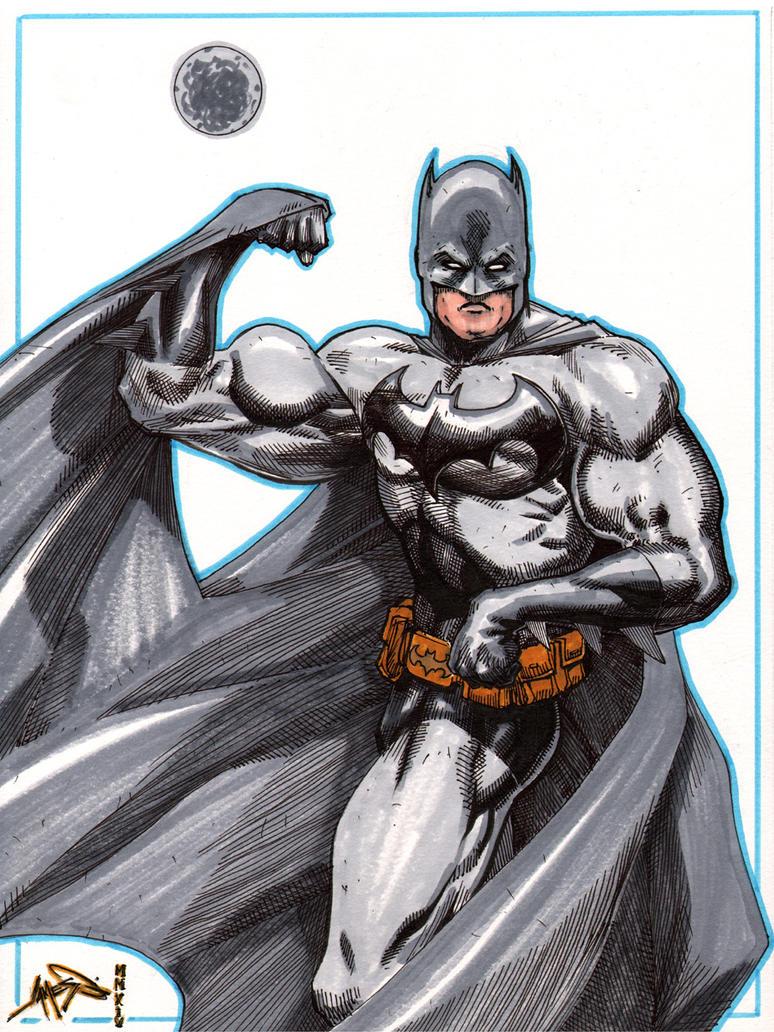 Batman Schwarzenegger by jamesq