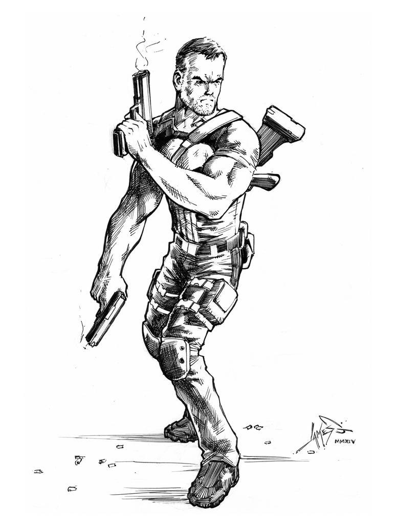 Punisher by jamesq