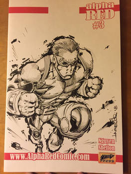 Alpha Red Sketch Cover
