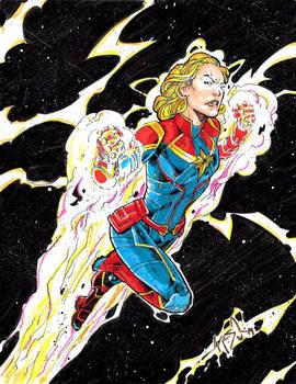 Captain Marvel - Colors