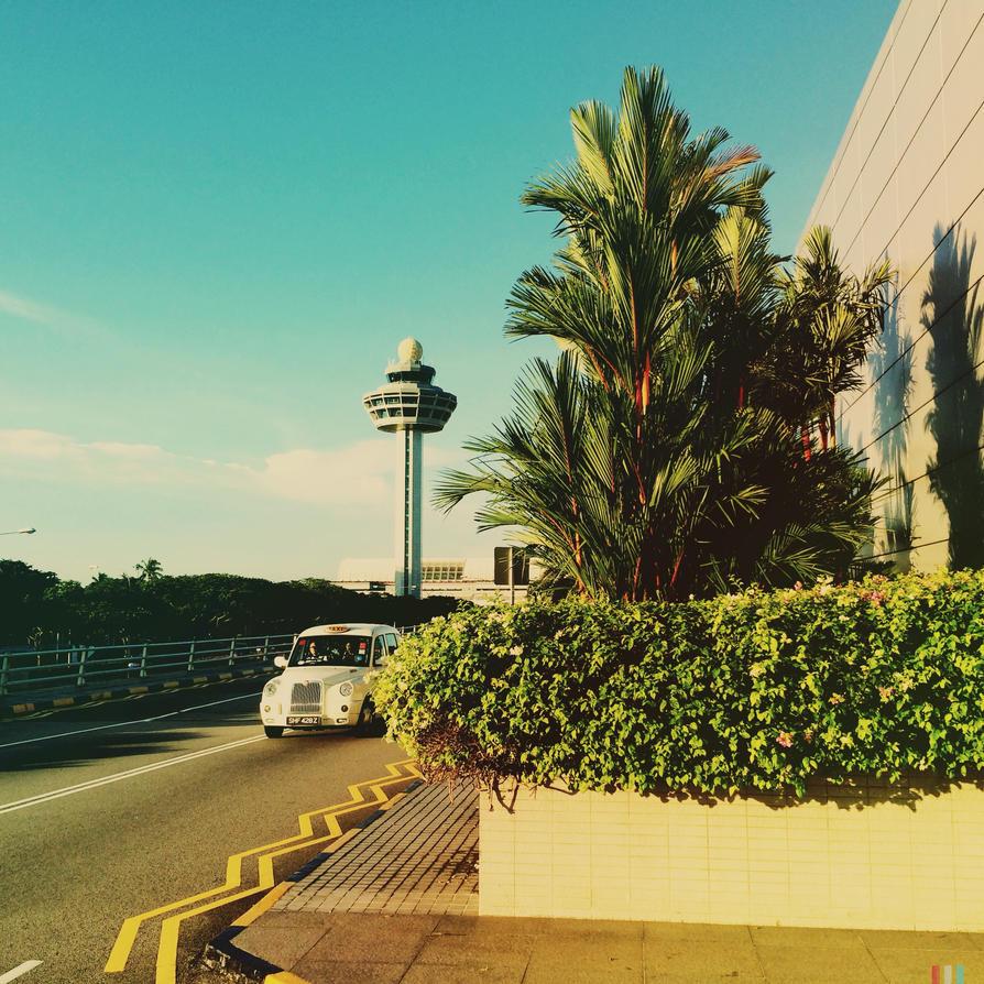 Neo-noir Aeroport by Eonity