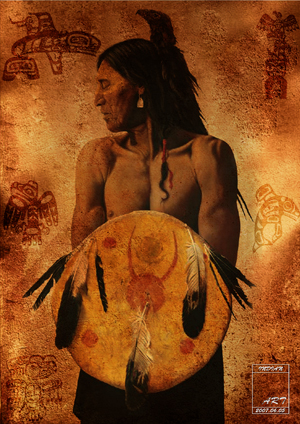 Native American 'Indian' by dienstmannoliver