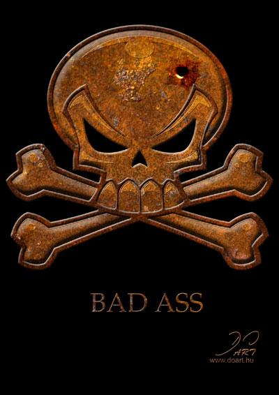 Bad ass skulls with neet contact box