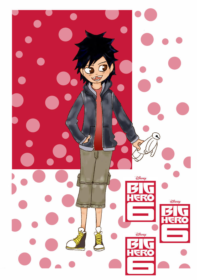 Hiro Hamada - Big Hero 6 by blackflameknight