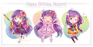Happy Birthday Nozomi! by Izariez