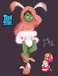 Beast Boy in diapers [Teen Titans] [Commission]