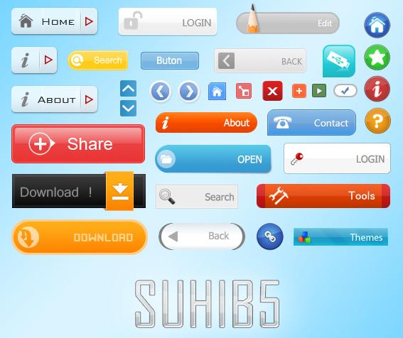 SUHIB5  Web 2.0 Button