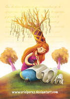 La escritora by UrielPerez