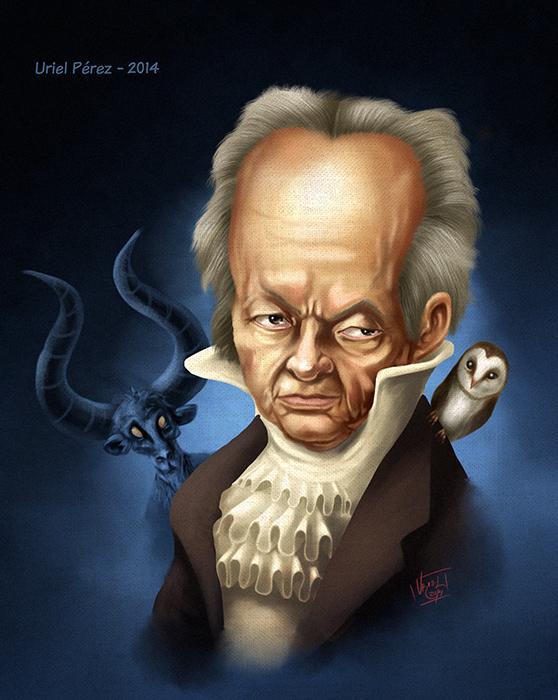 Fco Goya by UrielPerez
