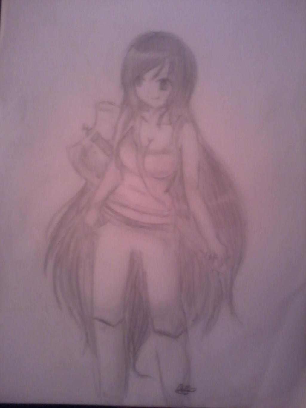 Marcy(Version Anime) by AniiYMackaFiolee