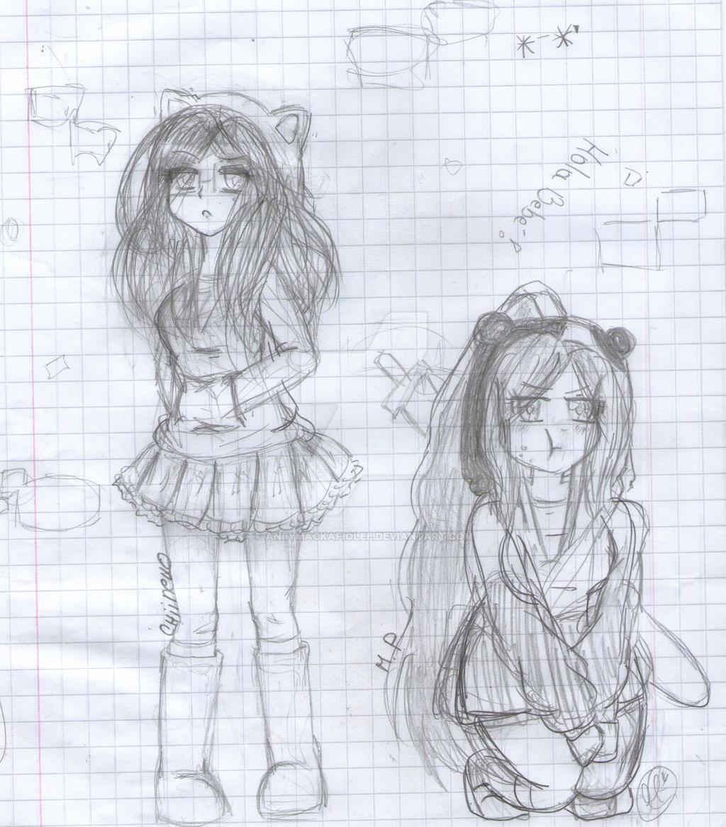 M.P y Chiineko by AniiYMackaFiolee