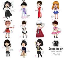 BTS - Dress like Girl