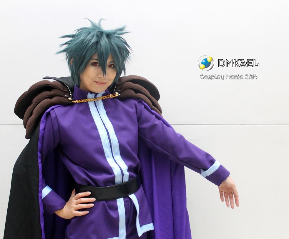 Maou(Dark Lord uniform): Cosplay Mania 2014 by lalunafelis