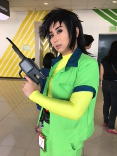 Leap of Faith cosplay: Kenichi/Steve of Voltes V by lalunafelis