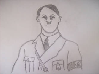 Adolf Hitler by tagchannel