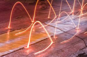 Festive Light Art