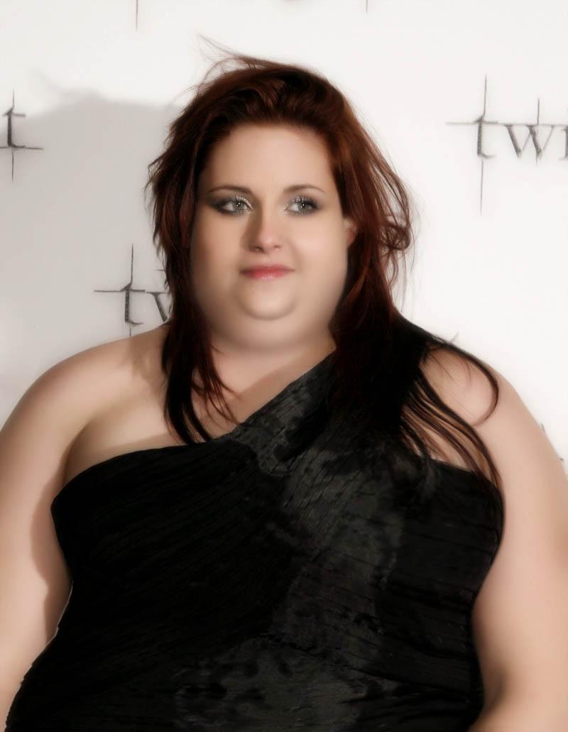 Kristen Stewart - SSBBW? Morph by MattBrewer