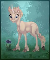 Little Unicorn by DolphyDolphiana