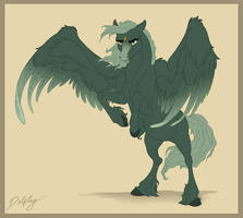 Aaron the Pegasus by DolphyDolphiana