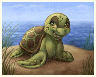 Sasha the Turtle by DolphyDolphiana