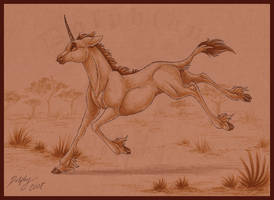 Savannah Unicorn by DolphyDolphiana