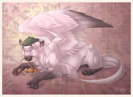 Pierre the Feline Dragon by DolphyDolphiana