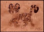 Cheerful Tiger Cub