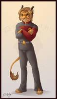 Captain Krrurr by DolphyDolphiana