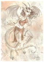 Dragon Lady by DolphyDolphiana