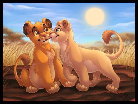 Kiss for Simba
