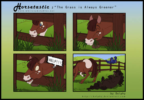 Horsetastic - Always Greener