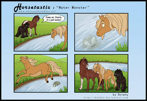 Horsetastic - Water Monster by DolphyDolphiana