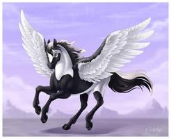 Run-Up Into the Sky by DolphyDolphiana