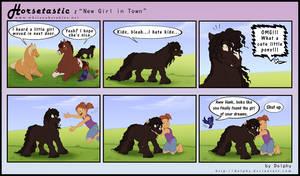 Horsetastic - New Girl in Town