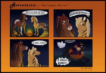 Horsetastic - Halloween Horror by DolphyDolphiana