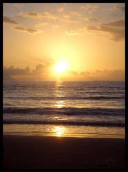 Ocean Sunset by DolphyDolphiana