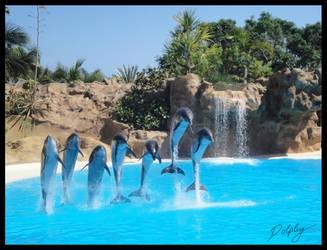 Group Jump by DolphyDolphiana