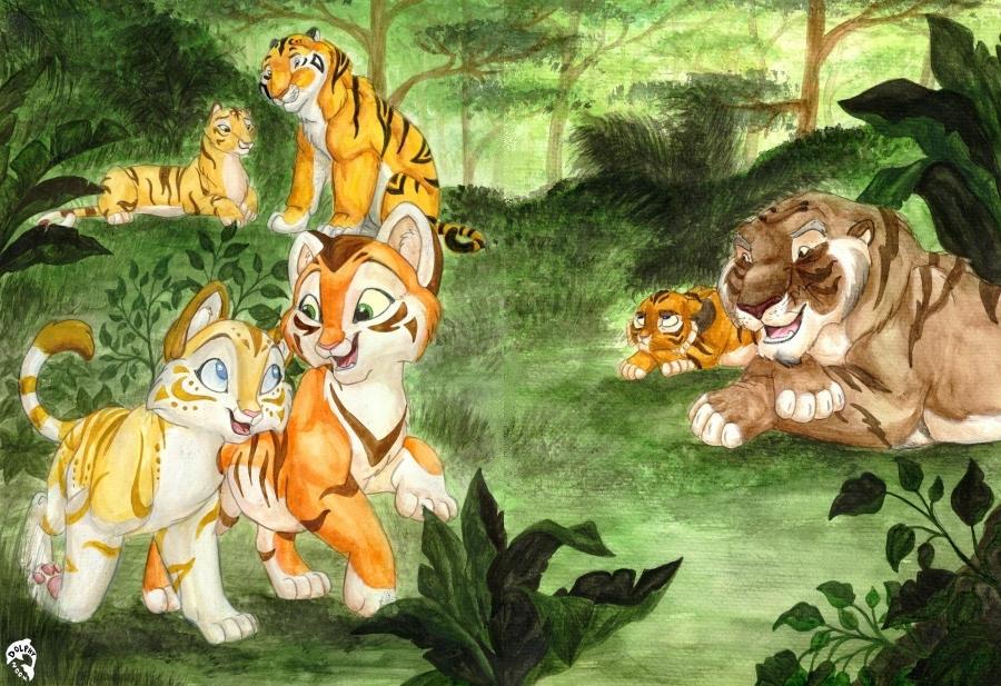 Harimau 3 by DolphyDolphiana