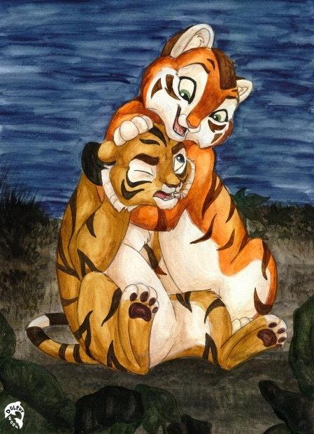 Harimau 5 by DolphyDolphiana
