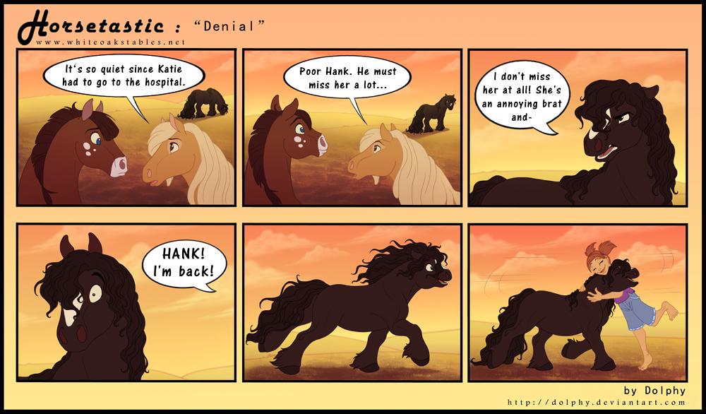 Horsetastic - Denial by DolphyDolphiana