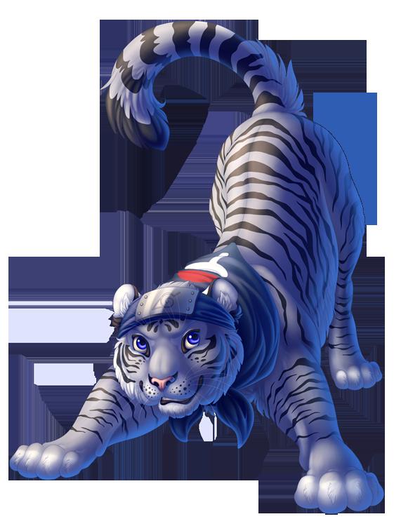 Konoha Tiger by DolphyDolphiana